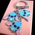 Stitch key ring metal car male women's keychain key chain