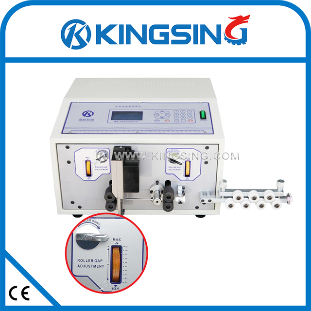 PLC Control Cable / Wire Cutting Stripping Machine KS 09C+ Free ...