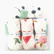 Baby Muslin Blanket Swaddle Bamboo Cotton Newborn Baby Bath Towel Swaddle Blankets Comfortable MultiFunctions Baby Wrap 3 style new blankets cute muslin baby swaddling blanket newborn baby swaddle wrap infant soft swaddle towel for girls and boys