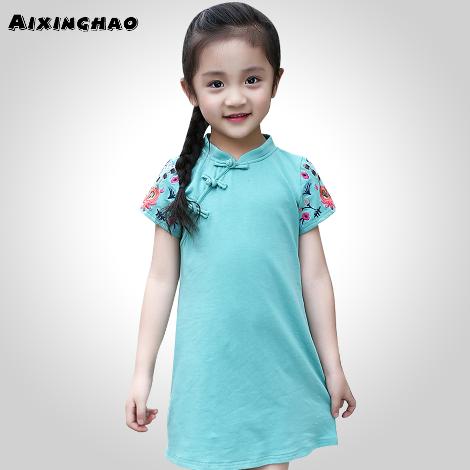 Aliexpress.com : Buy Summer Dress For Girls Big Dot Kids Party Dress ...