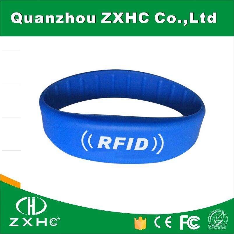 (100PCS) RFID 915Mhz UHF Alien H3 Slilicone Wristband bg 05 100pcs lot uhf alien h3 rfid wristband bracelet