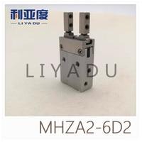 Тип SMC MHZA2 6D2 Малый параллельно открывать и закрывать (открытие и закрытие направлении через отверстие установки)
