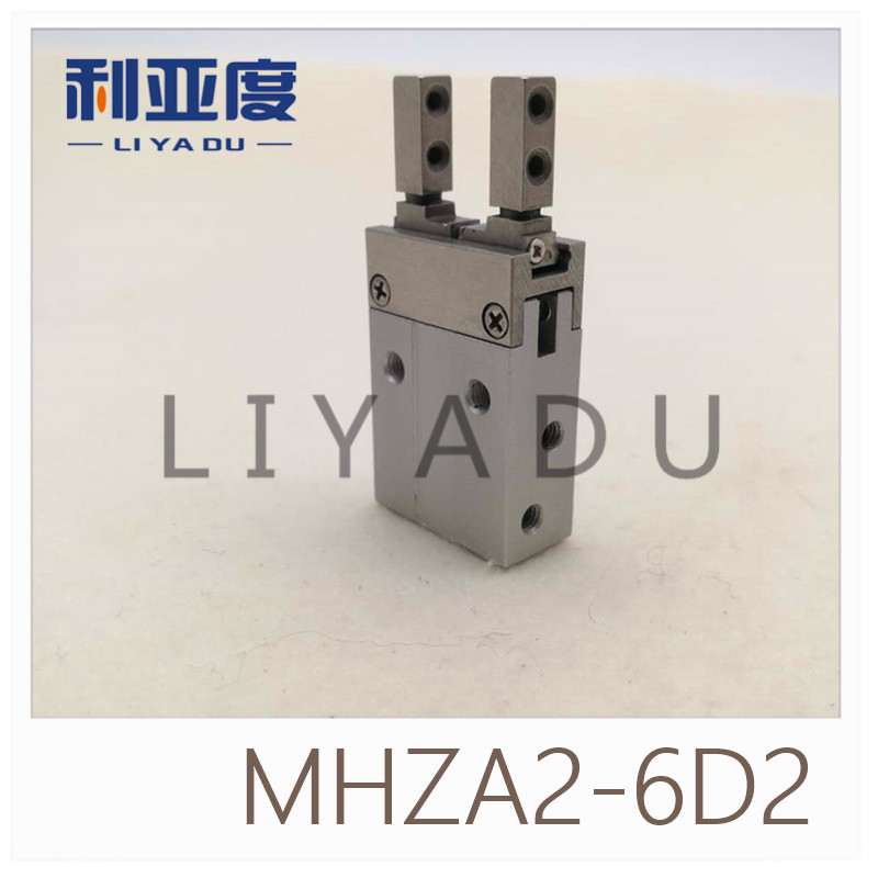 SMC type MHZA2-6D2 small parallel open and close(Opening and closing direction through hole installation) все цены