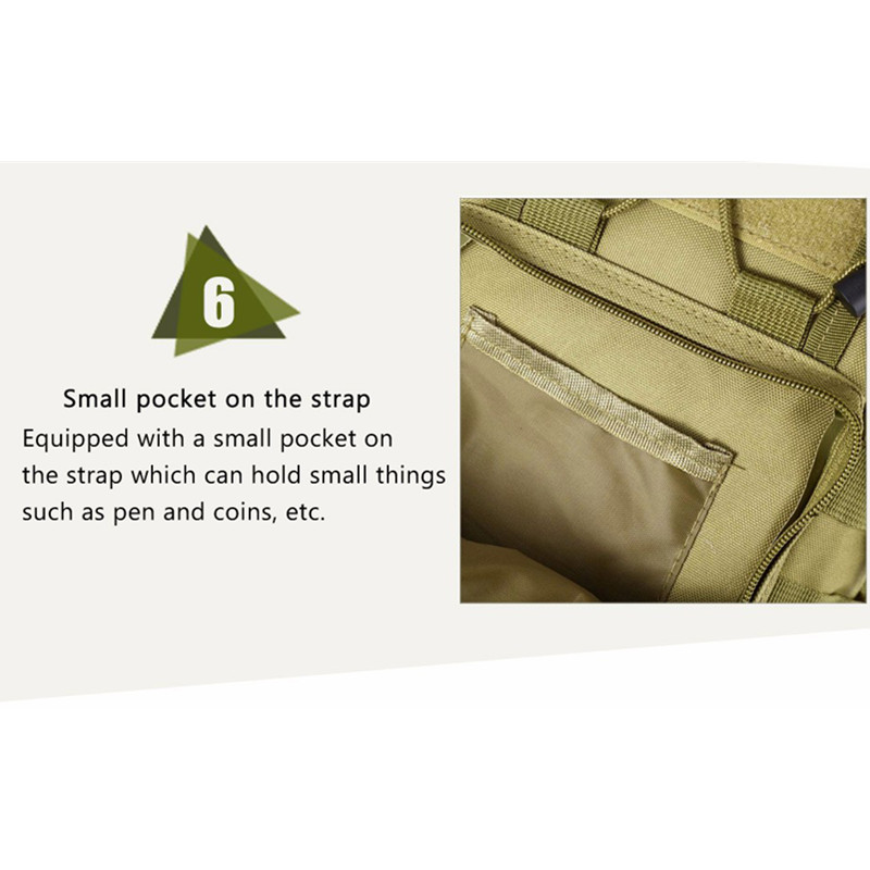 Outdoor Shoulder Military Backpack Climbing Bags Camping Travel Hiking Trekking Bag Cycle Bag 9 Colors18