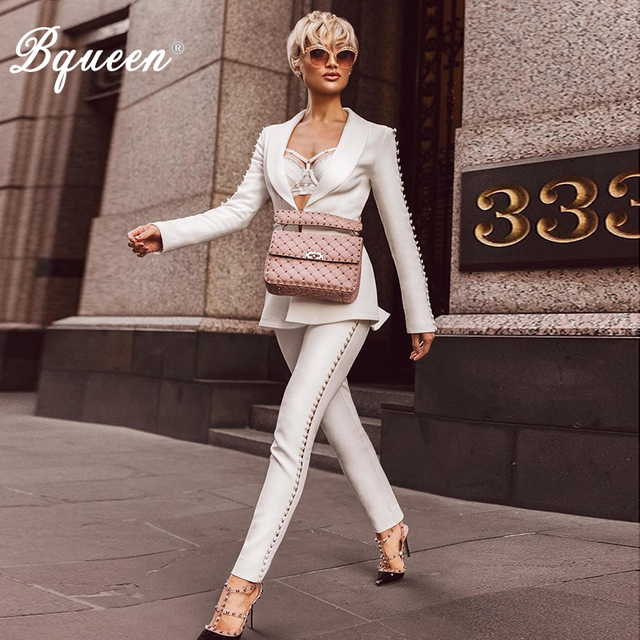 INDRESSME Sexy Autumn Women 2 Piece Sets Fashion Long Sleeve Button Deep V Top Solid Lace Up Full Bodycon Pants 2017 New Arrival