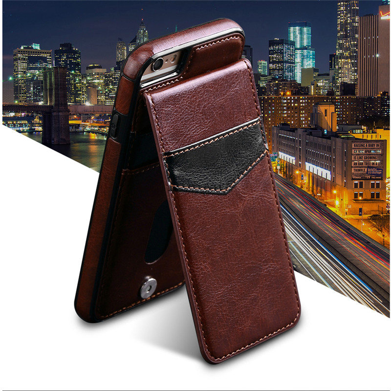 For Coque Apple iPhone 7 Case Luxury PU Leather Wallet Card Slot 4.7 Inch Back Cover For Fundas iPhone 7 Case Phone Shell Capa