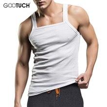Mens Cotton Undershirt Tanks Top Men Vest Fashion Singlet Tank Fanila Masculina Plus Size Singlet Fitness Sleeveless Shirt 2496
