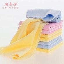 1 st 3 färg babyhandduk gullig 100% bomull barnhanddukar tecknad ansikte ny ankomst bekväma baby ansikte spädbarn handdukar
