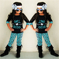 Baby Children Girl Clothes Set 2Pcs Toddler Baby Girls Kid  Girl Boss Heart T-shirt Tops+Floral Long Pants Clothes Outfits Set