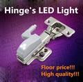 10 unids muebles bisagra LED de la luz de la luz del gabinete para cocina dormitorio sala de estar armario armario armario armario luz bisagra