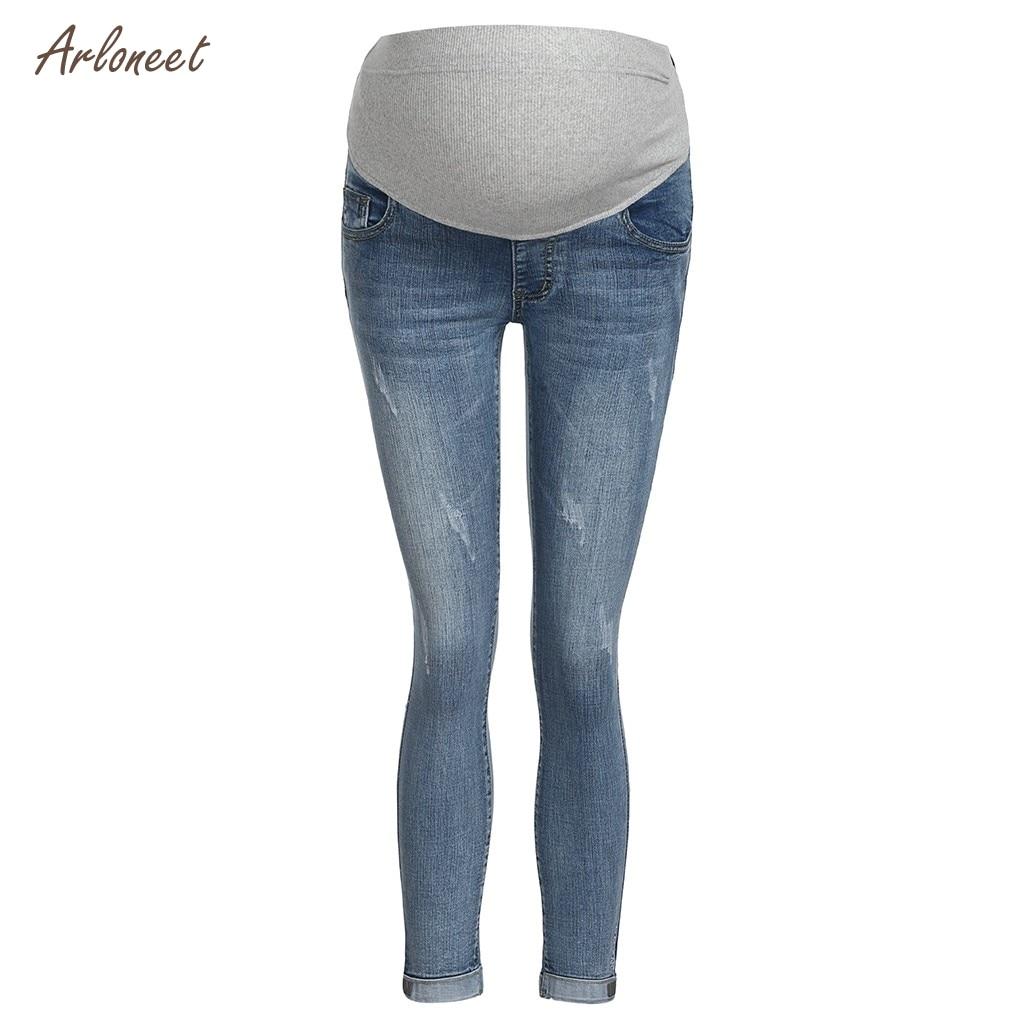 9a122a720115e ARLONEET moederschap broek voor zwangere vrouwen Zwangerschap Winter Warm  Jeans Broek Moederschap Kleding Voor Zwangere Vrouwen Verpleging Broek ~  Free ...