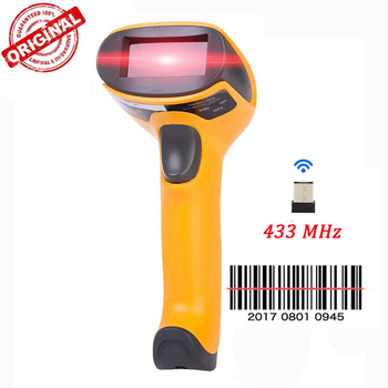 NETUM Wireless Laser Barcode Scanner Leitor de Código de Barras de Alta Velocidade Scaned Scaner Para POS e Inventário-HW-F2