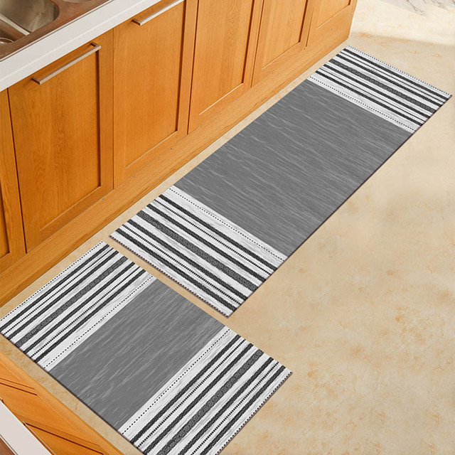 Anti Slip Bedroom Living Room Floor Mat Washable Carpet For Bathroom Entrance Doormat Kitchen Area Rugs Dining Table Mats