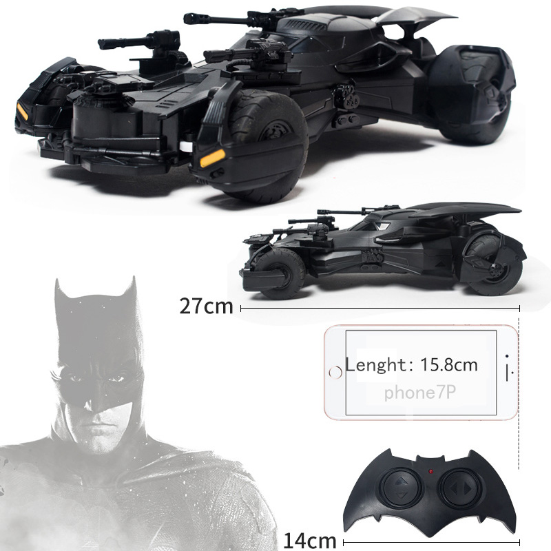 Batman RC Car 1:18 Kids Toy Gifts Recargable 2.4 GHz Control remoto - Juguetes con control remoto - foto 2