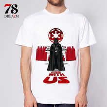 star wars king T Shirt Men's High Quality