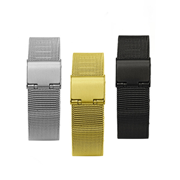18mm Stainless Steel Watchband For Huawei B5 Smart Wristband Strap 3 Colors Waterproof and Sweat-proof Bracelet Watch Belt