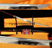 Hand Forged 1095 carbon steel japanese katana sword