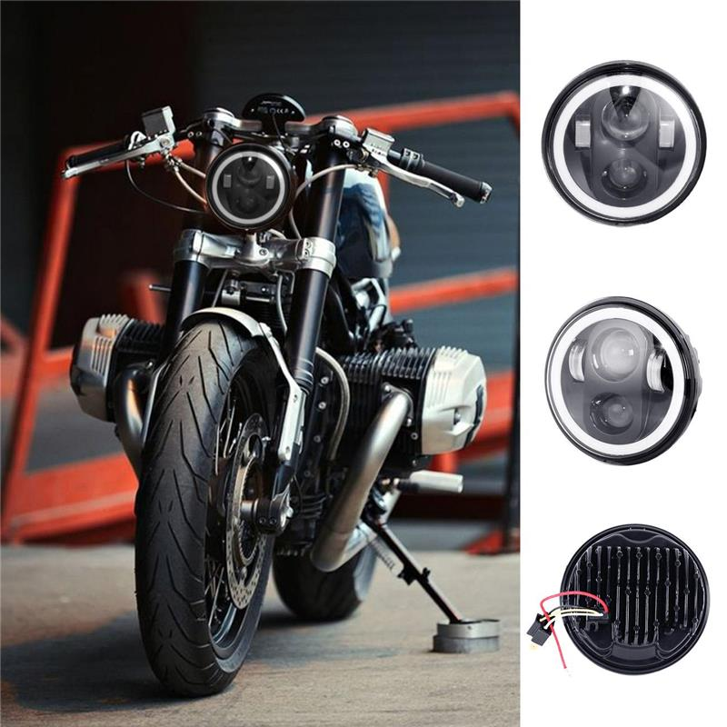 "Ironwalls 5.75"" Motorcycle LED Projector Headlight"