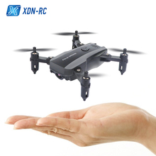 X-Q30 Mini Drone With Camera HD RC Helicopter High Hold Mode RC Quadcopter RTF WiFi FPV Foldable Arm RC Drone Profissional цена