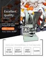 Expédier aux états-unis, TDP 5 tablette presse Machine pilule presse machine à vendre poinçonneuse fournisseurs