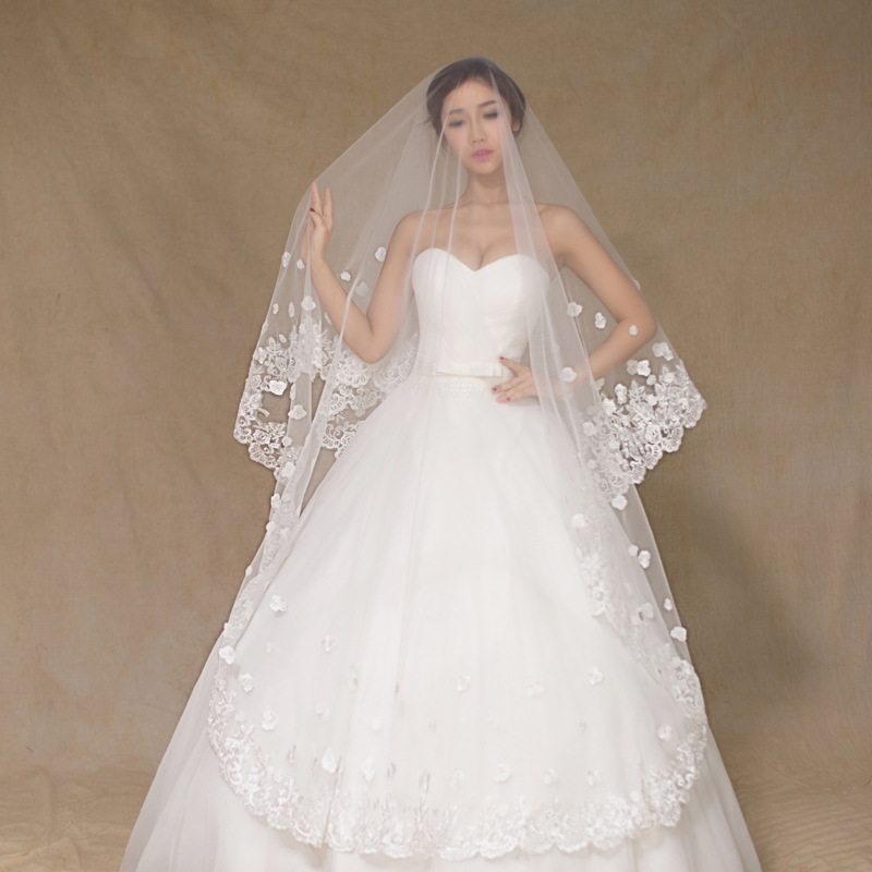 Long Wedding Hairstyles With Veil: Online Buy Wholesale Wedding Veil Supplies From China