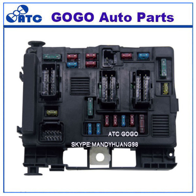 free shipping fuse box 6500 y3 9650618280 for peugeot 1007 206 307 rh aliexpress com