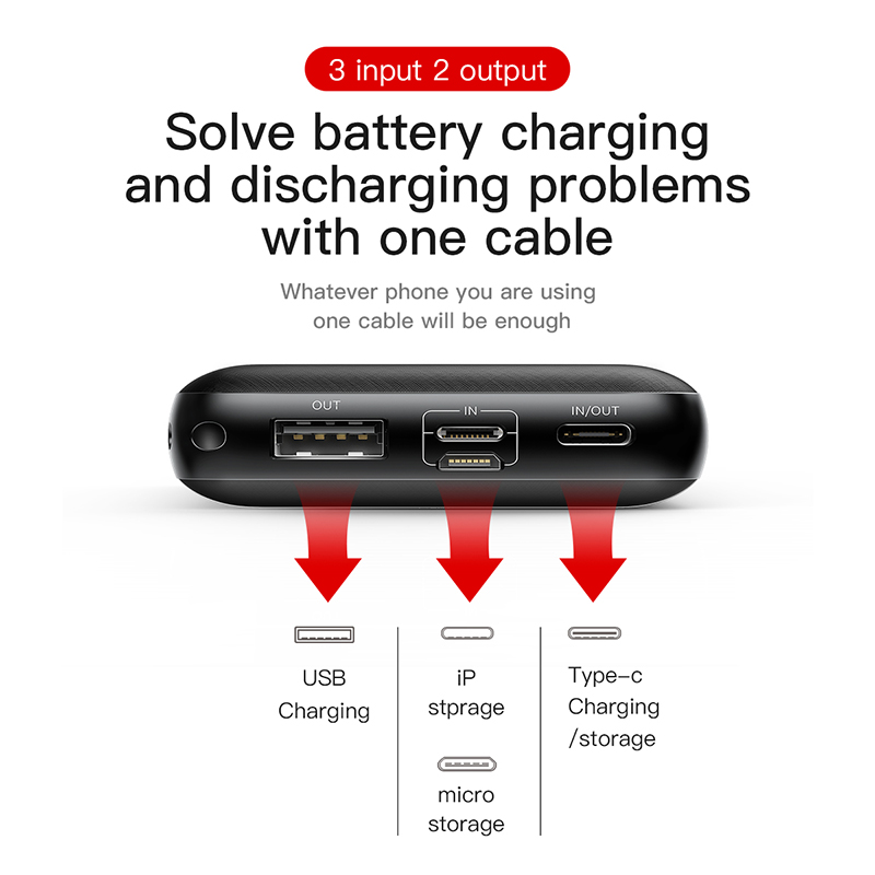 Charger External Fast bank