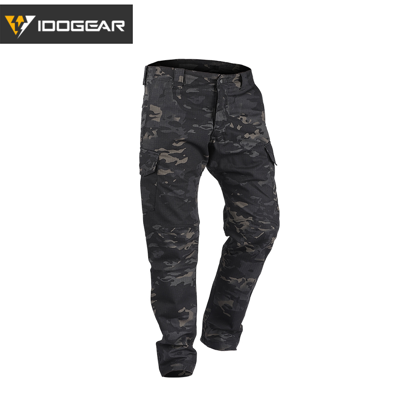 IDOGEAR GL Tactical Pants CP Field Airsoft Military Trousers Camo  Flexible Man Casual Trousers Multicam 3204(China)