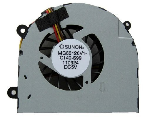SSEA Wholesale New Laptop CPU Cooling Fan Para Lenovo G770 ventilador del enfriador P / N: MG60120V1-C140-S99