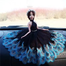 30cm Kawaii  12 Joint Movable Doll with Wedding Dress Fantacy Birthday Gift Toys for Girls 	022012