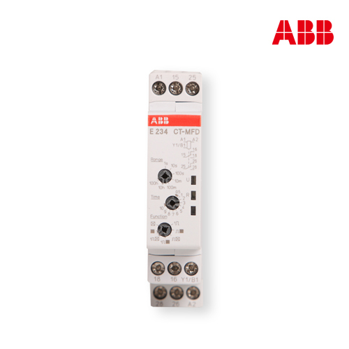 ABB time relay multi function CT-MFD, 17.5mm цена