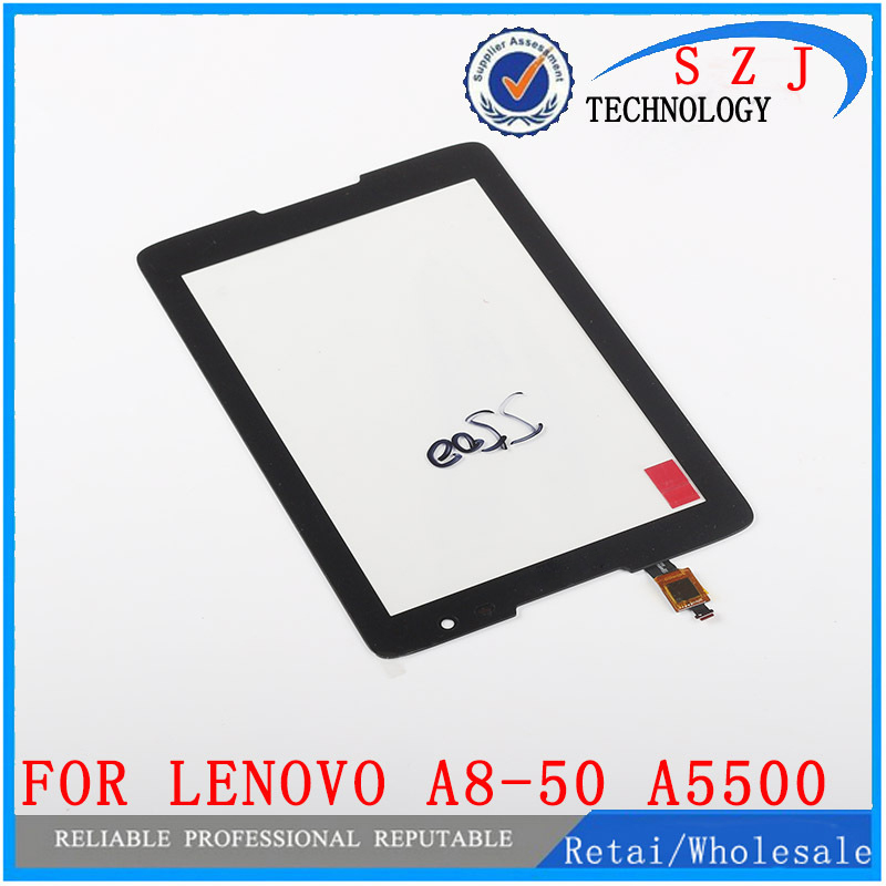 все цены на New 8'' inch tablet pc case For Lenovo A8-50 A5500 B0473 Touch Screen With Digitizer Panel Front Glass Lens Free shipping онлайн