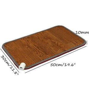 Image 5 - Теплые ноги, электрический нагревательный коврик для офиса, теплые ноги, термостат, грелка, домашний подогреваемый пол, ковер 50x30cm