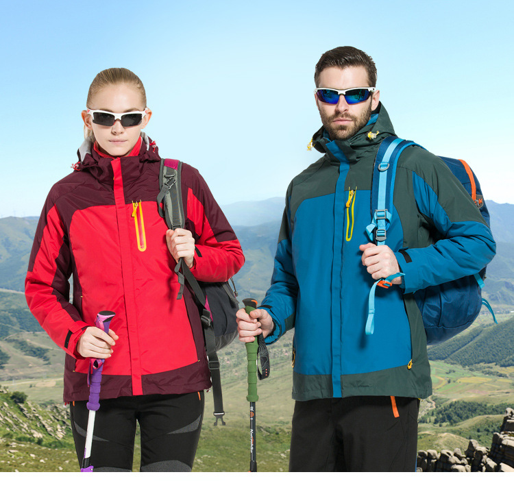 2017 Softshell Outdoor Jacket Women Men Lovers Waterproof Windproof Autumn Winter Hiking Jackets Fleece Hooded Mountain Wear men winter outdoor jacket autumn hiking