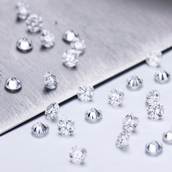 20pcs Loose Diamond 1.55mm DEF VS Synthetic Diamond HPHT CVD 100% Lab Dioamond for Jewelry Making