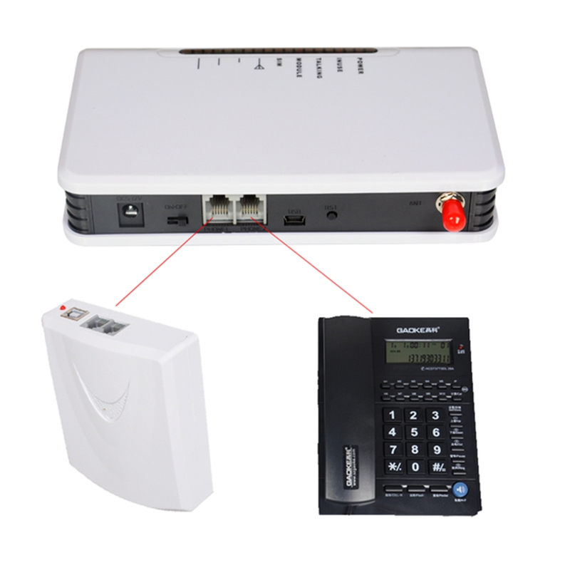GSM 900MHz/1800MHz Fixed Wireless Terminal Gateway Conect desktop phones, Alarm System use Sim Card to Make Call wireless service call bell system popular in restaurant ce passed 433 92mhz full equipment watch pager 1 watch 7 call button