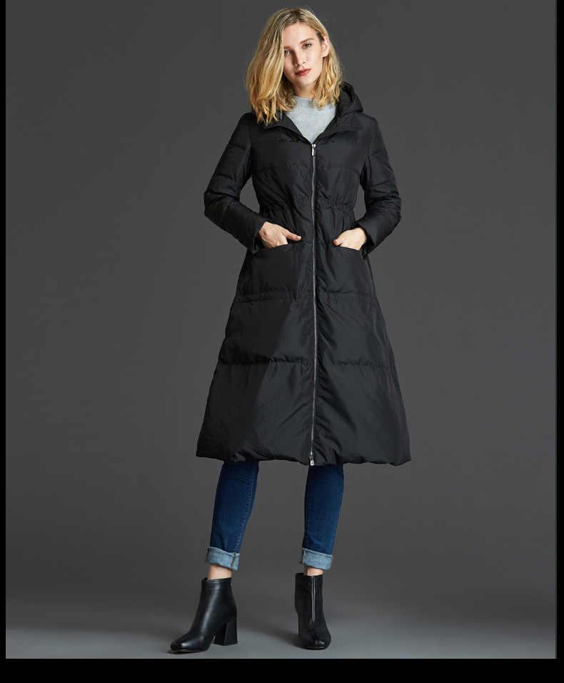 2018 heißer neue stil schwarz grau lose stil große größe frauen winter unten jacke