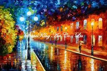 palette knife oil painting  modern oil painting canvas oil painting K431
