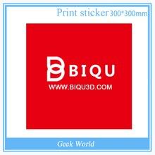 BIQU 10 ШТ. 300 мм * 300 мм Красный Heatbed Кровать Лента Стикер Сборки Пластины Ленты 3D0334
