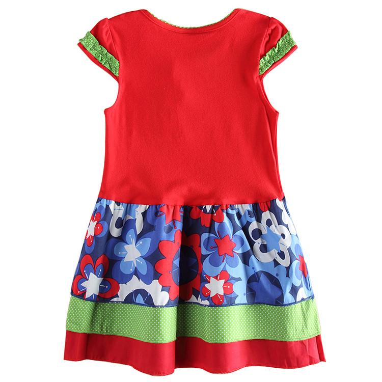 ebf09288dbe9 NOVA kids summer clothes baby girls frocks striped kids dress ...