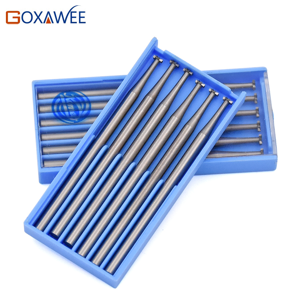 6pcs Power Tools Accessories wheel Steel Burs for Dremel Carving Tools For Dremel Rotary Tools 009#, 014#, 018#, 023#