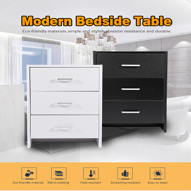 Schlafzimmer Schublade Minimalistischen Modernen Nachttisch Neue Schwarz  Weiß Nachttisch Für Wohnmöbel
