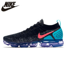 the latest 6a010 22f73 Nike Air VaporMax Flyknit 2.0 Men s Running Shoes Sport Outdoor Breathable  Sneakers Designer Athletic 2018 New Arrival 942842