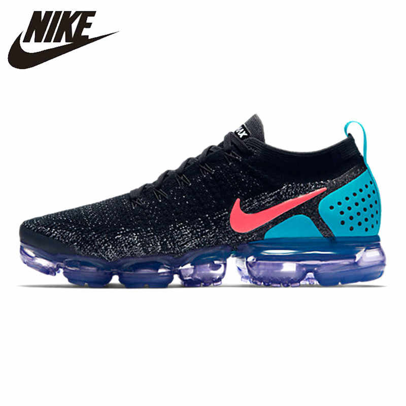 27104da84d Nike Air VaporMax Flyknit 2.0 Men's Running Shoes Sport Outdoor Breathable  Sneakers Designer Athletic 2018 New