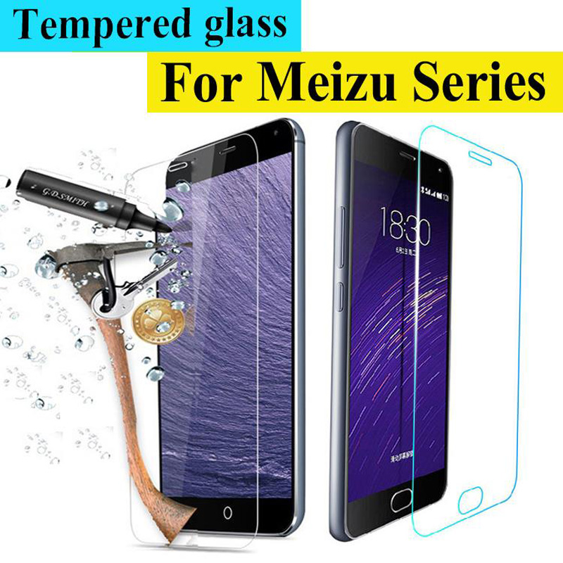0.3mm 9h Front Premium Tempered Glass For Meizu M2 Mini Mx5 Mx4 Mx3 Mx2 M2 Note Mx4 5 Pro E3 M6t M8c Screen Protector Film Case