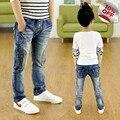 Un Nuevo Año, niños pantalones vaqueros de la cremallera, muchachos pantalones de ajuste para los bebés de la primavera pantalones de los niños 3 4 5 6 7 8 9 10 11 12 13 14