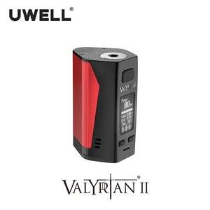 Image 2 - UWELL Valyrian II MOD Triple 18650 แบตเตอรี่ 300W อิเล็กทรอนิกส์บุหรี่ VAPE MOD ไม่มีแบตเตอรี่