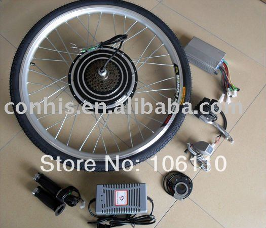 DIY electric bicycle, 48v 500w electric bike conversion kits with rear wheel
