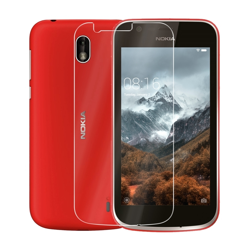 2.5D 9H Premium Tempered Glass For Nokia 1 Screen Protector Toughened Protective Glass For Nokia 1 Protective Front Film