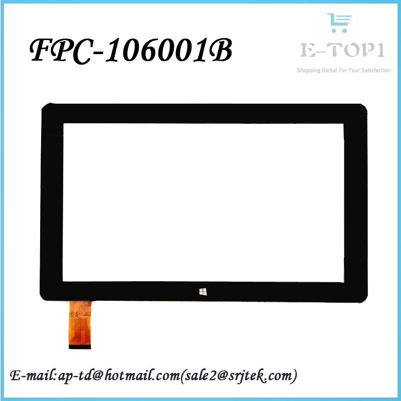 10.1 inch FPC-106001B touch screen digitizer glass For CUBE i10